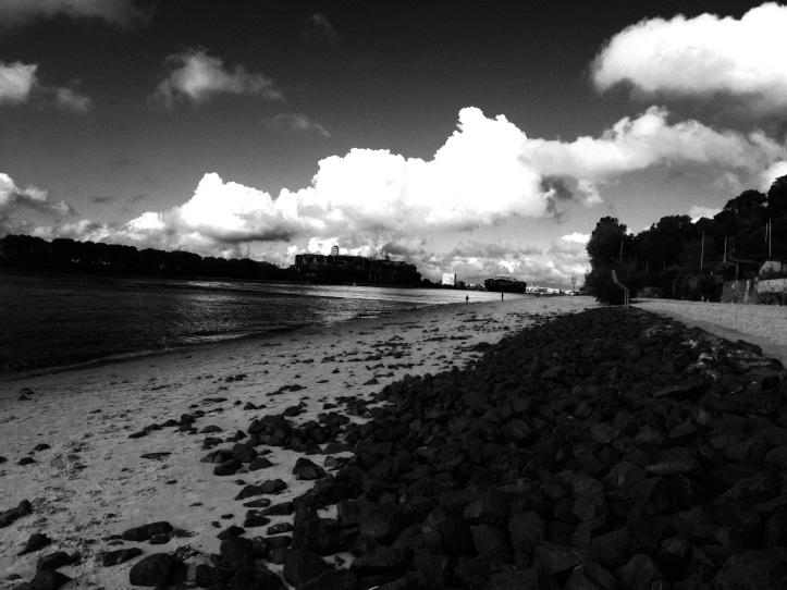 Elbe bei der Strandperle