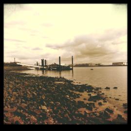 Elbe bei Blankenese