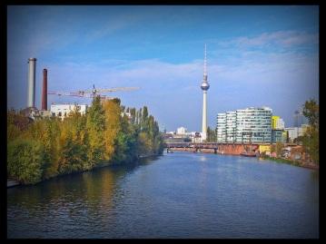 Spree in Kreuzberg