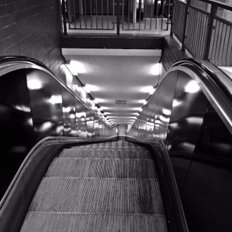Rolltreppe Messehallen