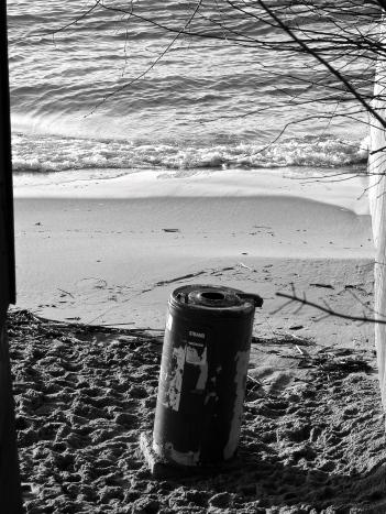 Strandmülleimer