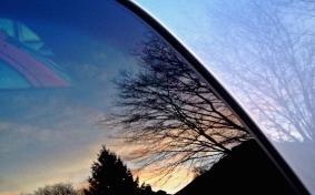 Abendsonnenspiegelbild