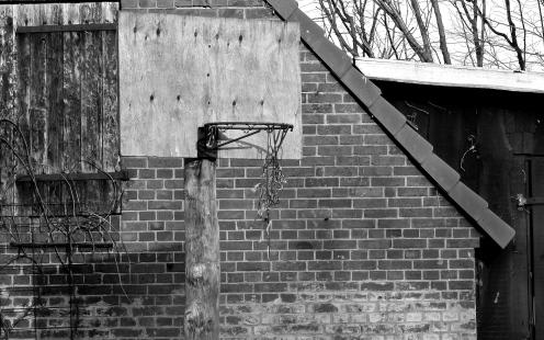 Kaputter Basketballkorb
