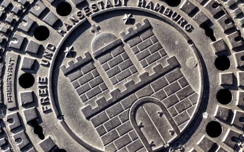 Hamburg am Boden