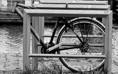 Kopfloses Fahrrad