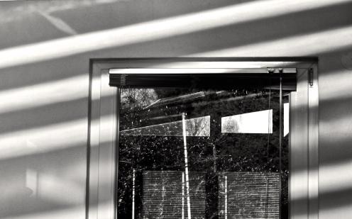 Fenster im Streifenlook
