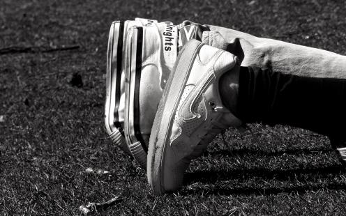 Abgelegte Füße