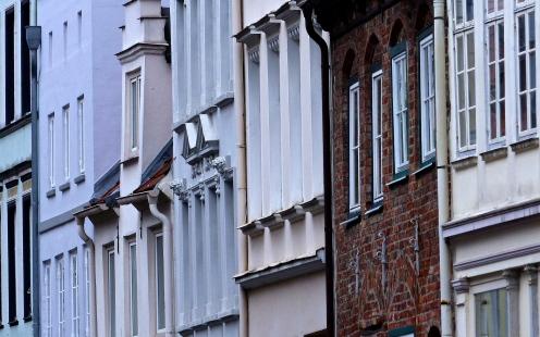 Lübecker Häuserfront