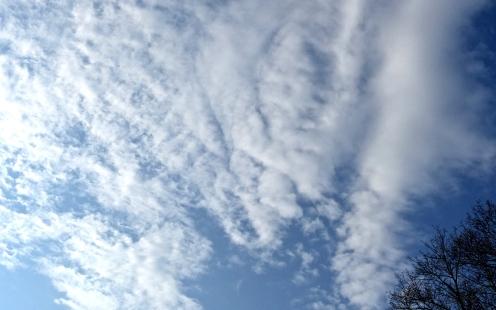 Der Himmel so weit