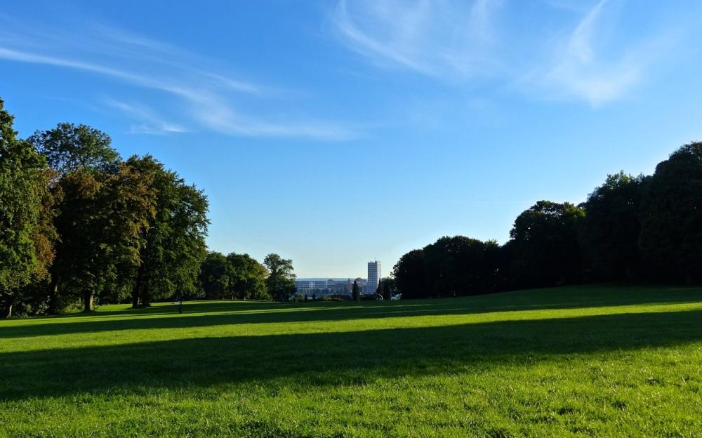 Himmel überm Park