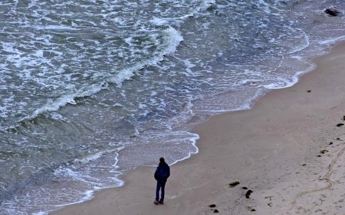 Der junge Mann und das Meer