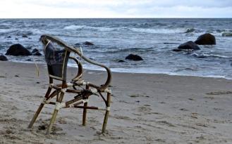 Sessel mit Au(f)s (Meer) Sicht