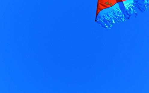 Der Himmel so blau