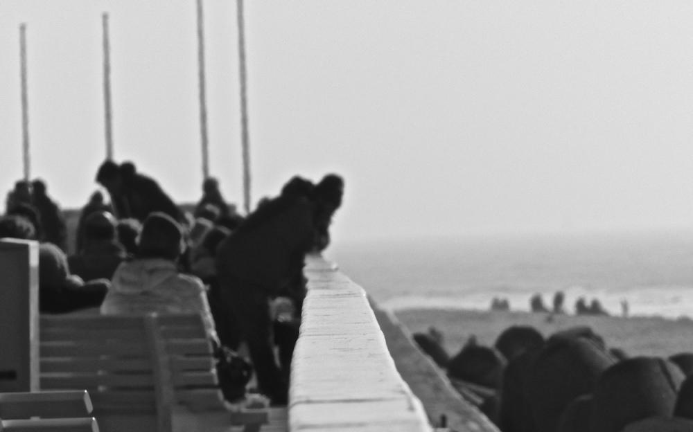 Menschen am Strand 1