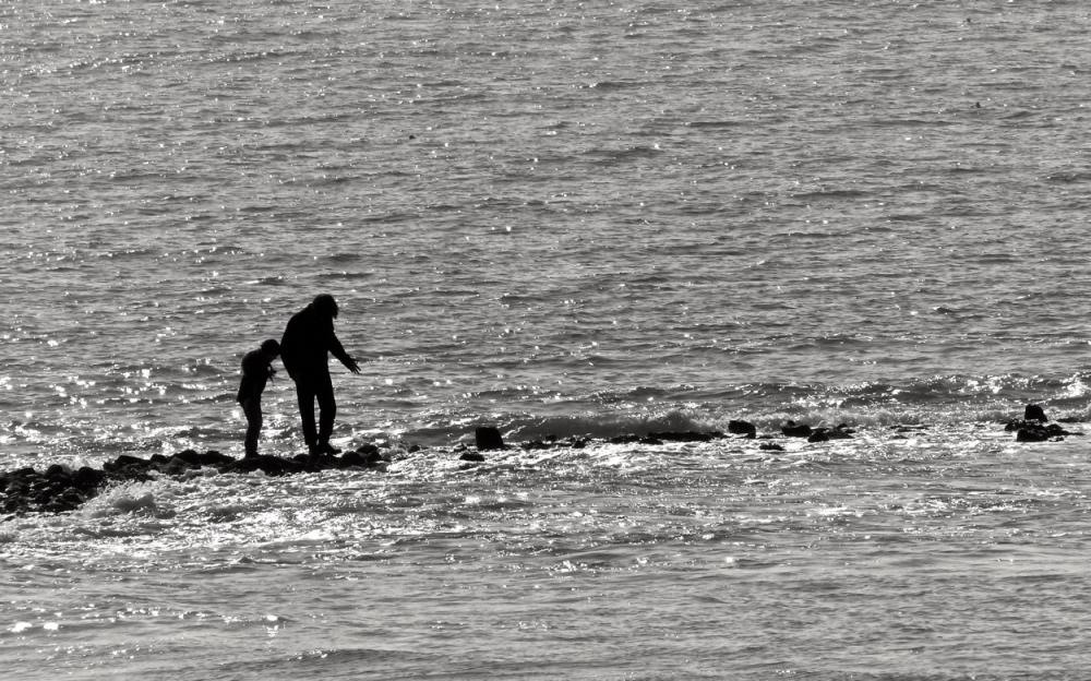 Menschen am Strand 3