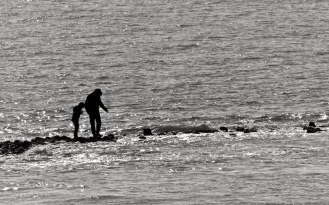 Gang über das Meer