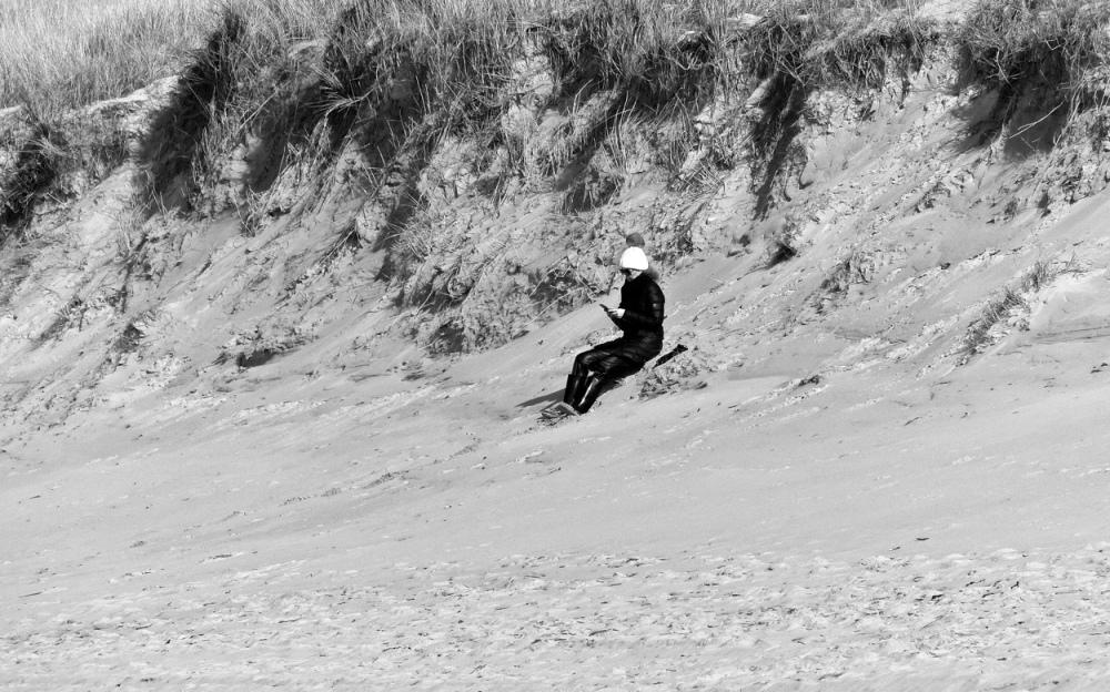 Menschen am Strand 5