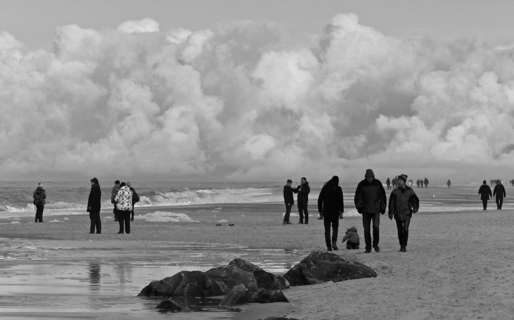 Menschen am Strand 6