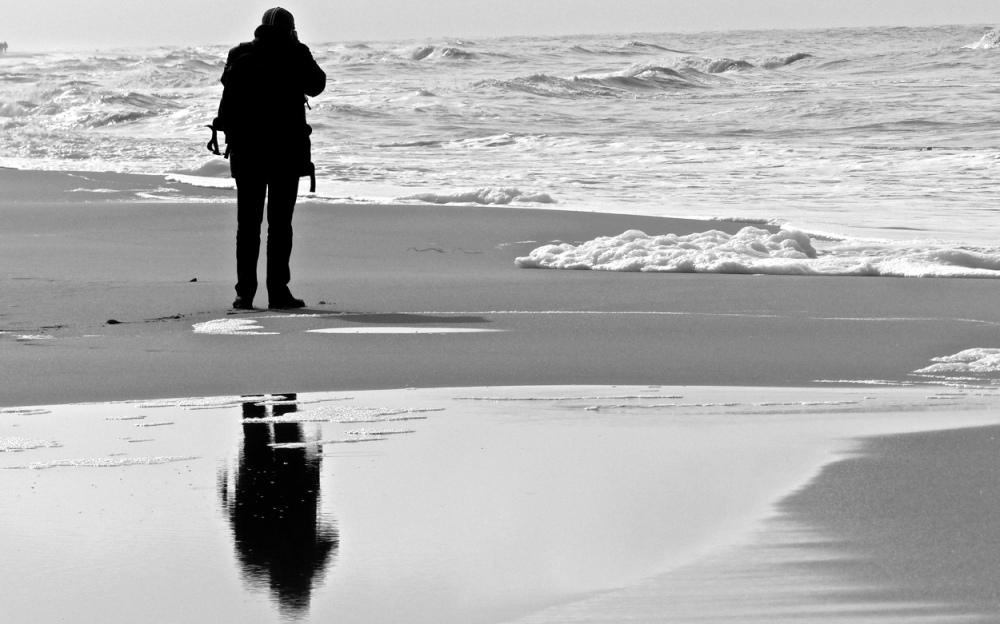 Menschen am Strand 7