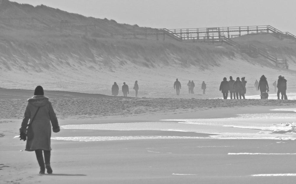 Menschen am Strand 8