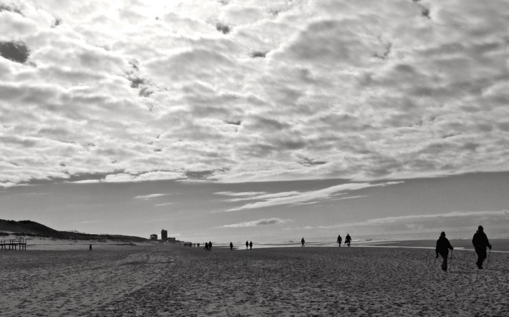 Menschen am Strand 9