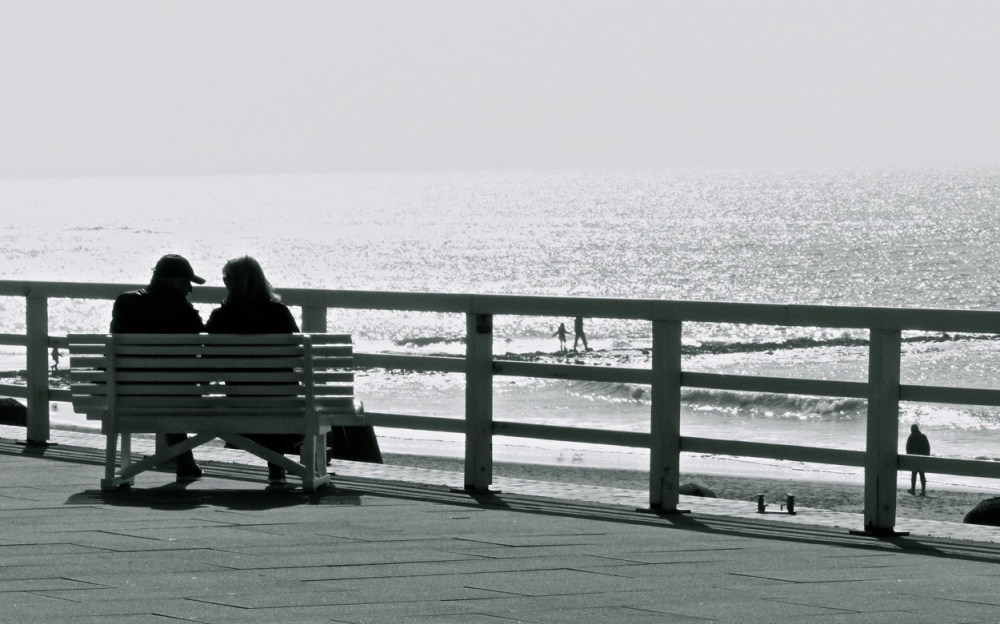 Mesnchen am Strand 2