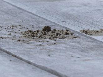 Ein Häuflein Sand