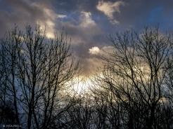 Leuchten am Himmel