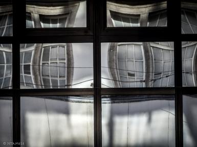 Fassadenzerrspiegel
