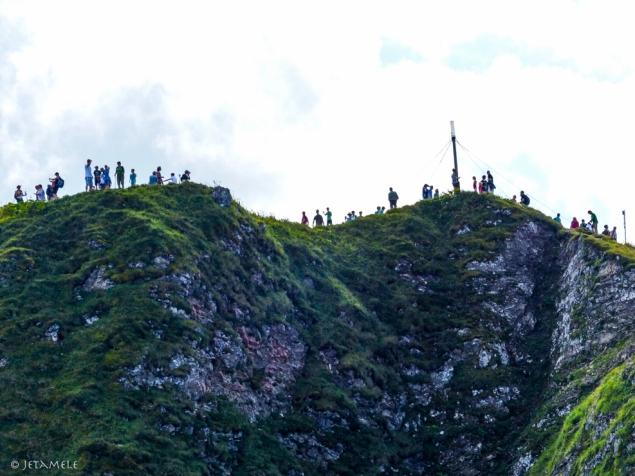 Gipfeltouristen