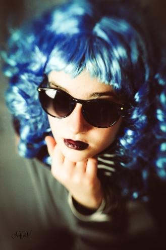 I'm Blue - 3 sign